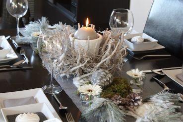 creatina tischdeko box als set winter wonderland f r 8 10 personen 13 teilig. Black Bedroom Furniture Sets. Home Design Ideas