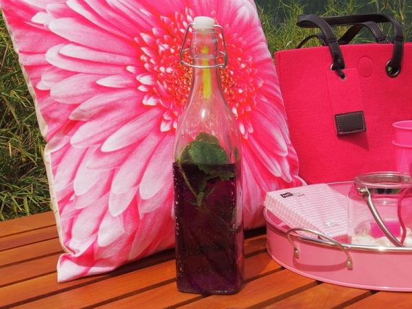 creatina glasflasche mit b gelverschluss und kunststoffstopfen in wei 30 cm hoch. Black Bedroom Furniture Sets. Home Design Ideas