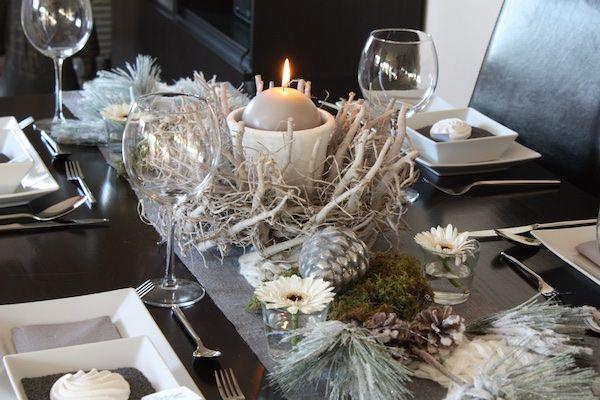 creatina tischdeko box als set winter wonderland f r 8. Black Bedroom Furniture Sets. Home Design Ideas