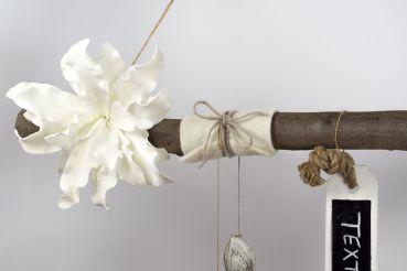 creatina ast aus buchenholz zum aufh ngen in weiss ca. Black Bedroom Furniture Sets. Home Design Ideas