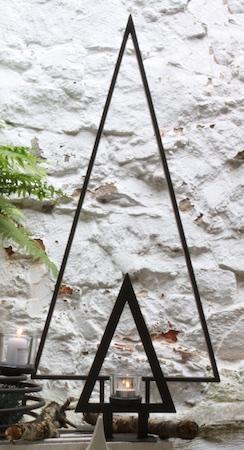 creatina weihnachtsbaum in schwarz aus pulverbeschichteten metall 90 cm hoch. Black Bedroom Furniture Sets. Home Design Ideas