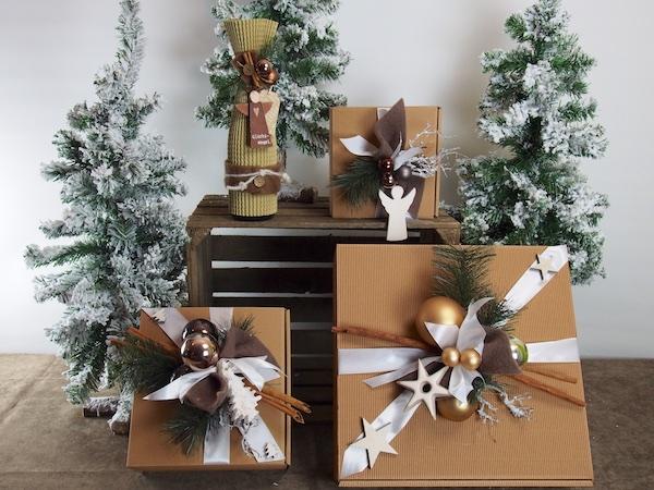 creatina geschenkbox weihnachten mit deko in der gr e s. Black Bedroom Furniture Sets. Home Design Ideas