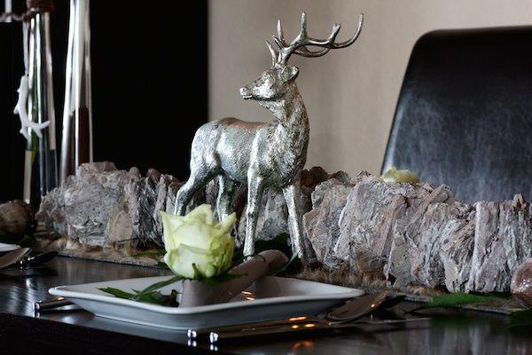 creatina tischdeko box als set halali mit hirsch f r 8 10 personen 16 teilig. Black Bedroom Furniture Sets. Home Design Ideas